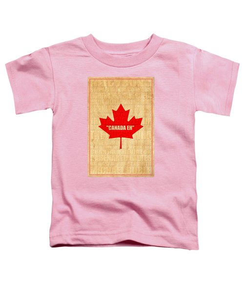 Canada Music 1 Toddler T-Shirt