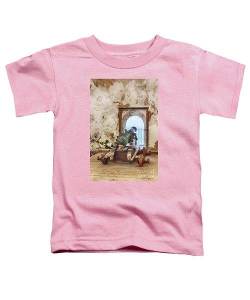 Cannon At Fort San Felipe Del Morro Toddler T-Shirt