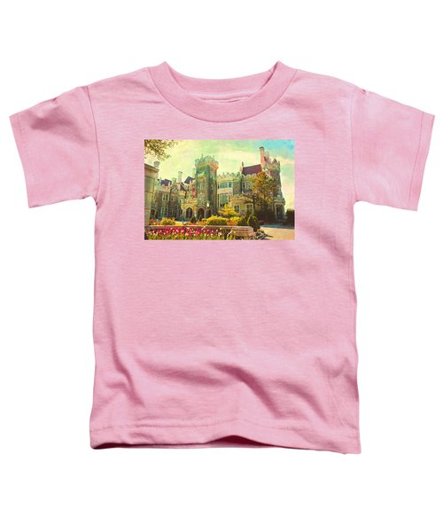 Casa Loma Castle In Toronto Toddler T-Shirt