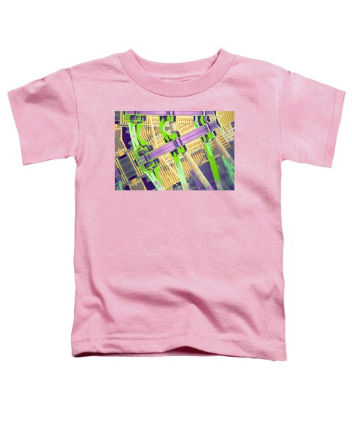 Caution Raised Bridge Toddler T-Shirt