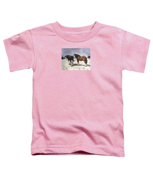 Chance Of Flurries Toddler T-Shirt