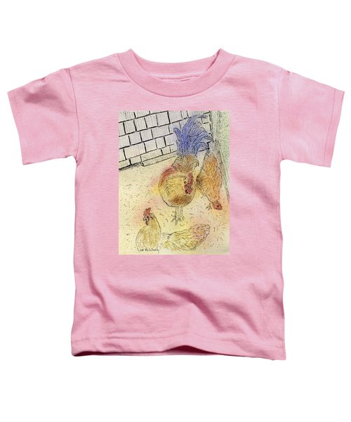 Chickens At Pei Toddler T-Shirt