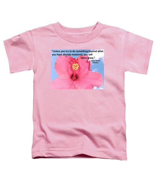 Choose Your Quote Choose Your Picture 5 Toddler T-Shirt