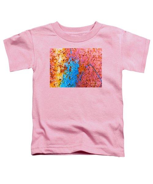 Colorful Cracks Toddler T-Shirt