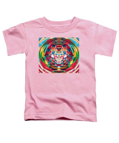 Colorful Mosaic Toddler T-Shirt
