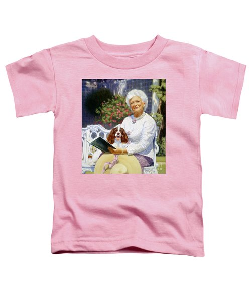 Companions In The Garden Toddler T-Shirt by Candace Lovely