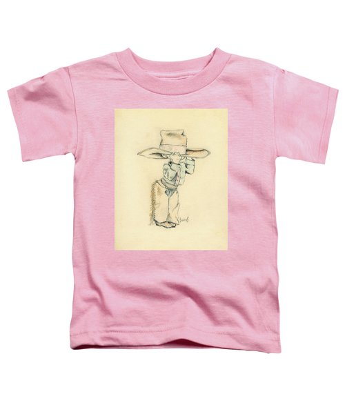 Cowboy Toddler T-Shirt