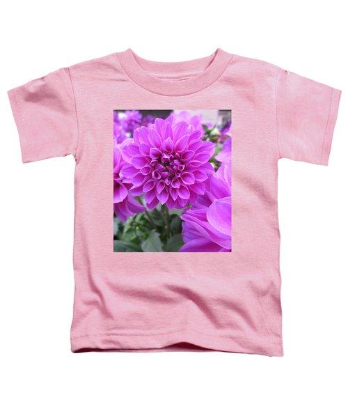 Dahlia In Pink Toddler T-Shirt