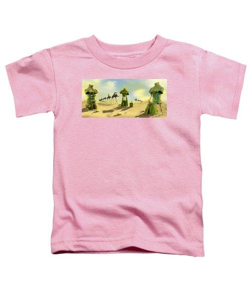 Daliland Park - Panoramic Toddler T-Shirt