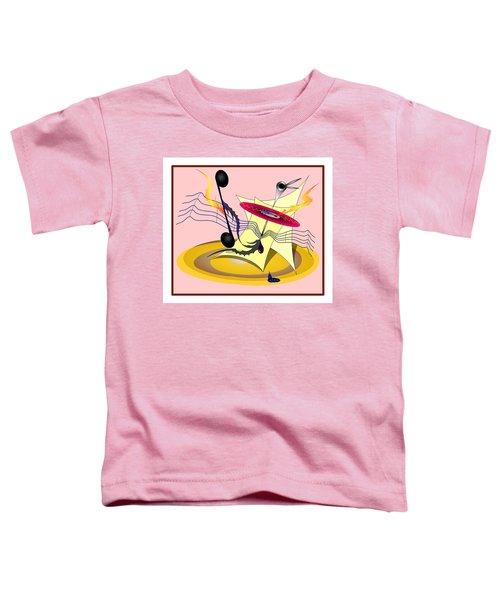 Dance Music Toddler T-Shirt