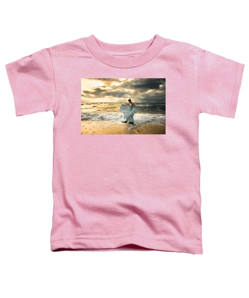Dancing In The Surf Toddler T-Shirt