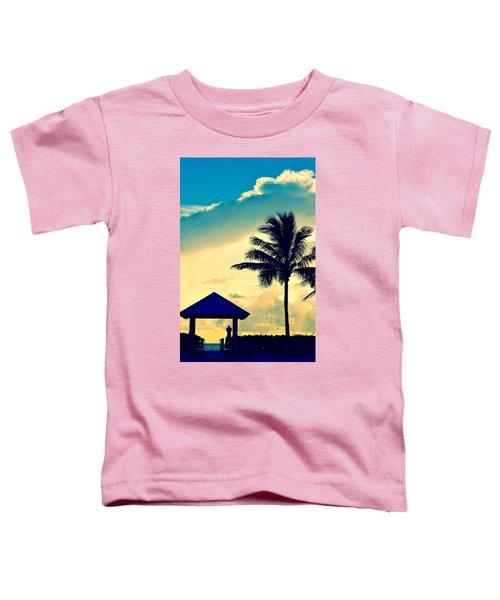 Dawn Beach Pyramid Toddler T-Shirt