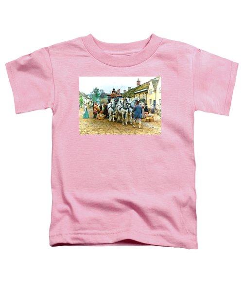 Departing Cranford Toddler T-Shirt