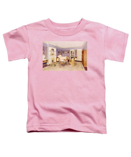 Design For The Interior Of A Bedroom Toddler T-Shirt