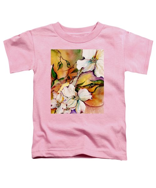 Dogwood In Spring Colors Toddler T-Shirt