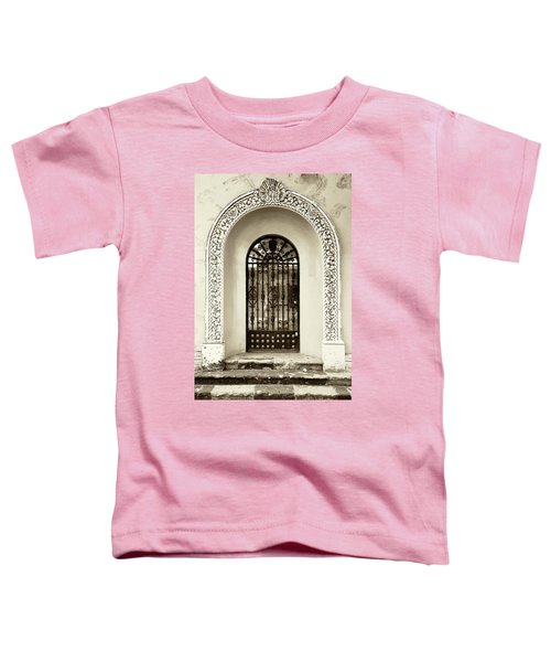 Door With Decorated Arch Toddler T-Shirt