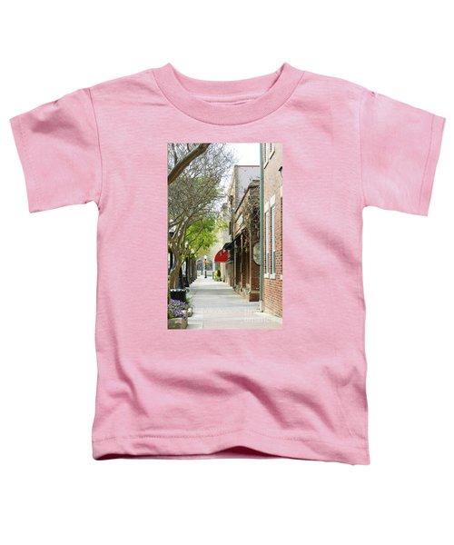 Downtown Aiken South Carolina Toddler T-Shirt