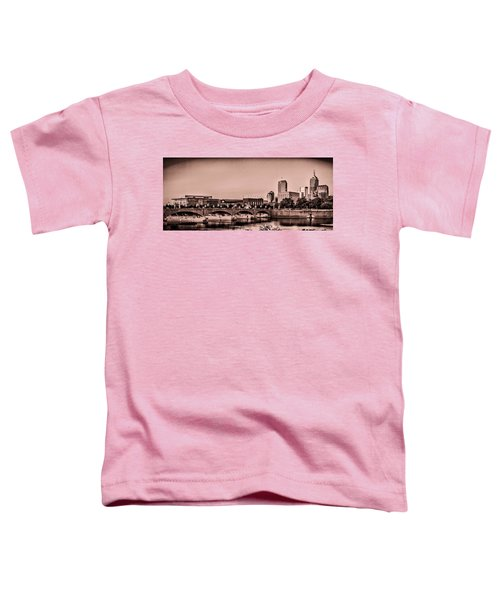 Downtown Indianapolis Toddler T-Shirt