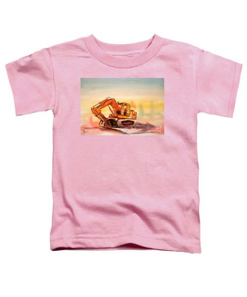 Dozer In Watercolor  Toddler T-Shirt