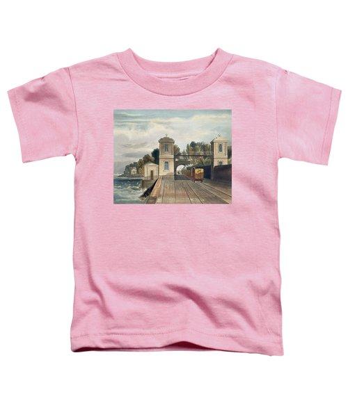 Dublin And Kingstown Railway Granite Toddler T-Shirt