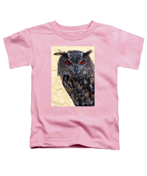 Eagle Owl Toddler T-Shirt