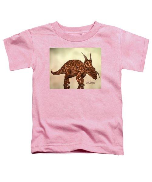 Einiosaurus Toddler T-Shirt by Bob Orsillo