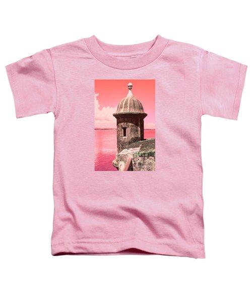 El Morro In The Pink Toddler T-Shirt