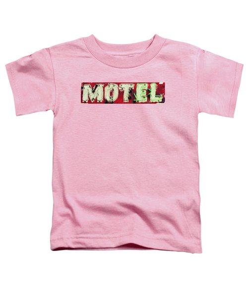 El Motel Toddler T-Shirt