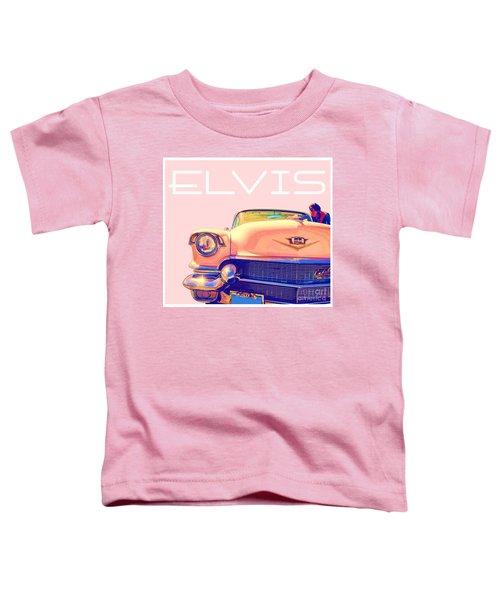 Elvis Presley Pink Cadillac Toddler T-Shirt