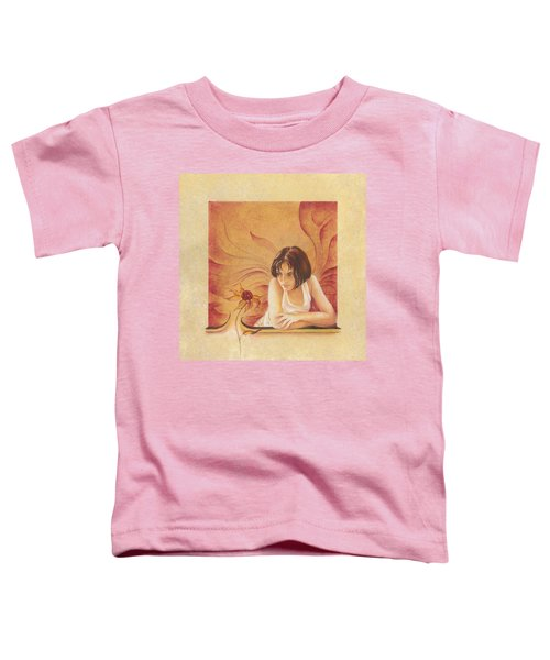Everyday Angel With Flower Toddler T-Shirt