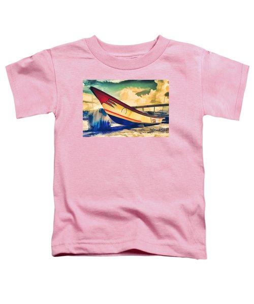 Fishing Boat Toddler T-Shirt