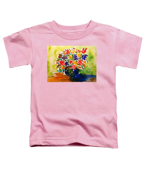 Flowers In A Vase Toddler T-Shirt