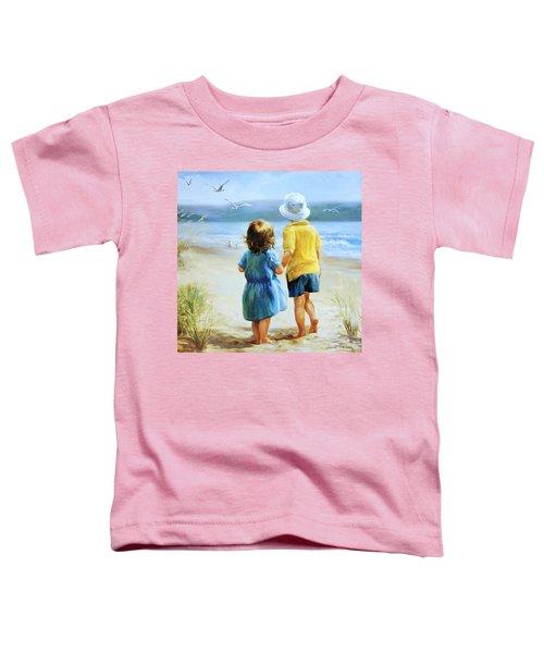 Foot Prints Toddler T-Shirt
