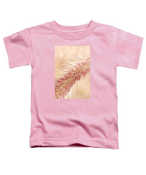 Fountain Grass Blooms   Toddler T-Shirt