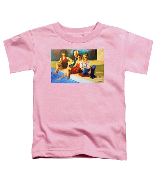 Four At A  Pool Toddler T-Shirt