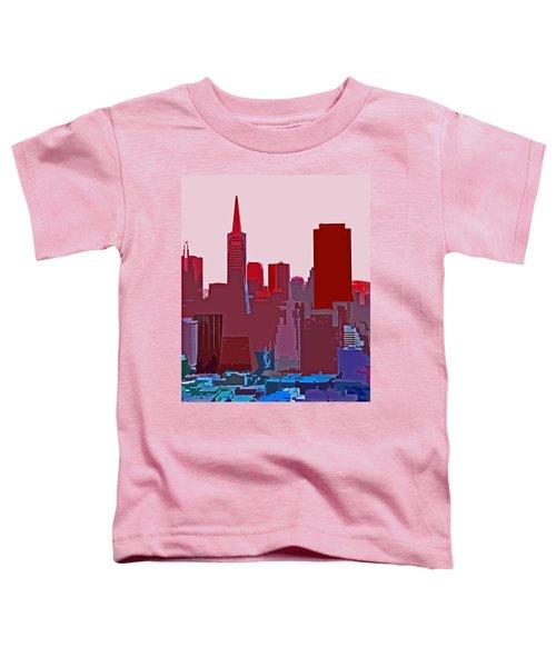 Frisco Skyline Toddler T-Shirt
