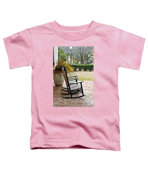 Front Porch Rockers Toddler T-Shirt