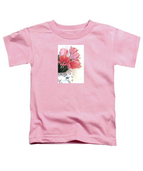 Gathered Tulips Toddler T-Shirt