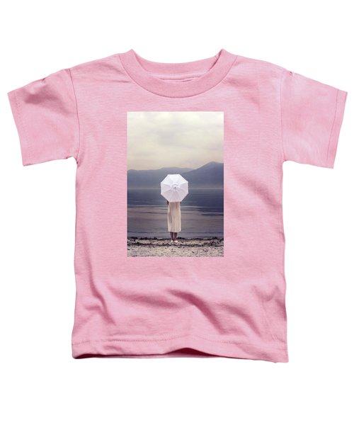 Girl With Parasol Toddler T-Shirt