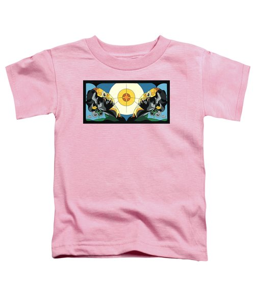 Glow Of Beauty - Painting With Hidden Pictures Toddler T-Shirt