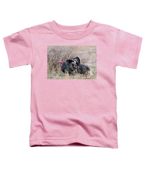 Gobbling Turkeys Toddler T-Shirt