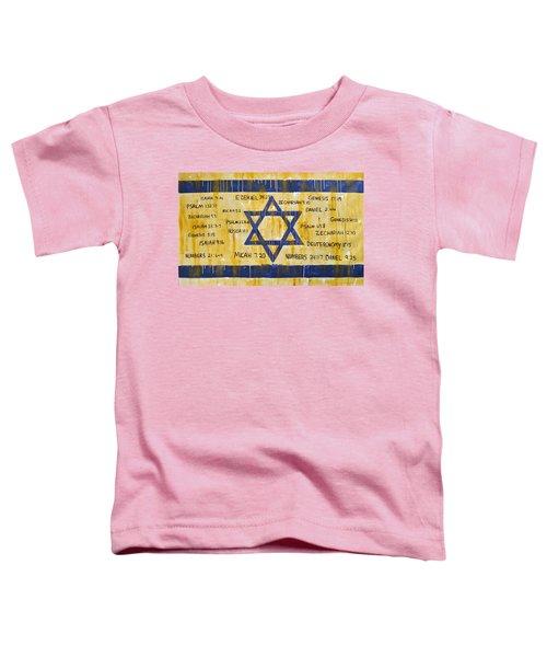 Gods Love For Israel Toddler T-Shirt