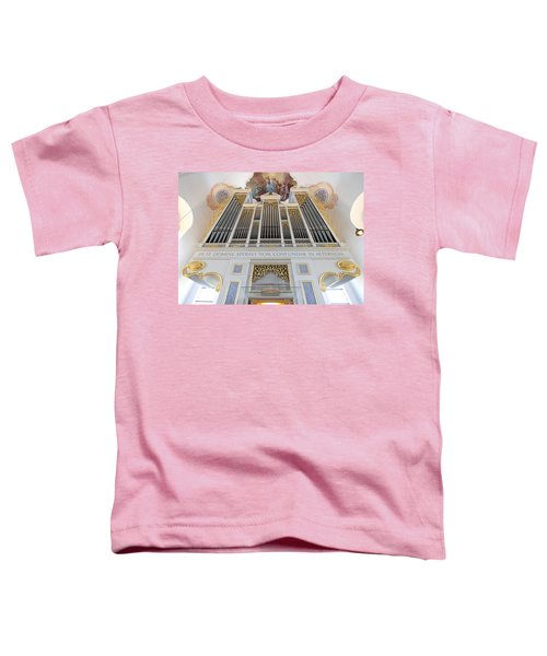 Gold And Blue Pipes Toddler T-Shirt