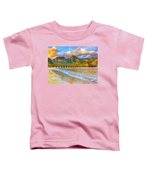 Golden Hanalei Morning Toddler T-Shirt