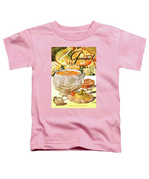Gourmet Cover Of Pumpkin Soup Toddler T-Shirt