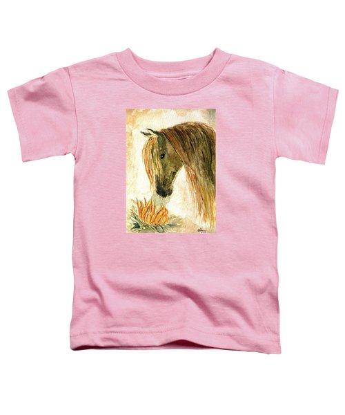 Greeting A Sunflower Toddler T-Shirt