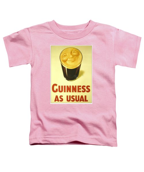 Guinness As Usual Toddler T-Shirt