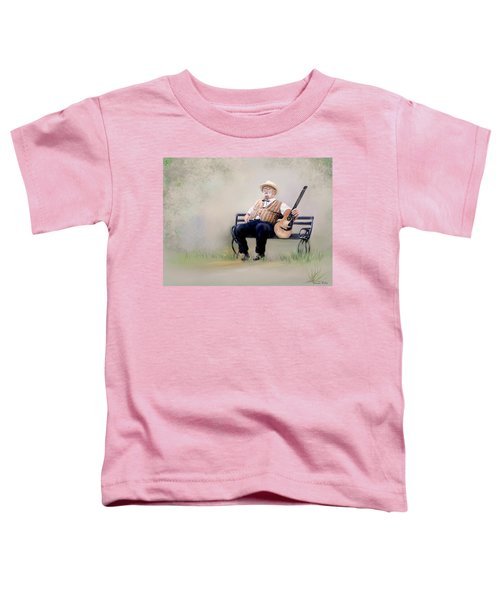 Guitar Man Toddler T-Shirt