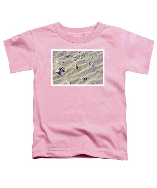 Gull Tracks Toddler T-Shirt
