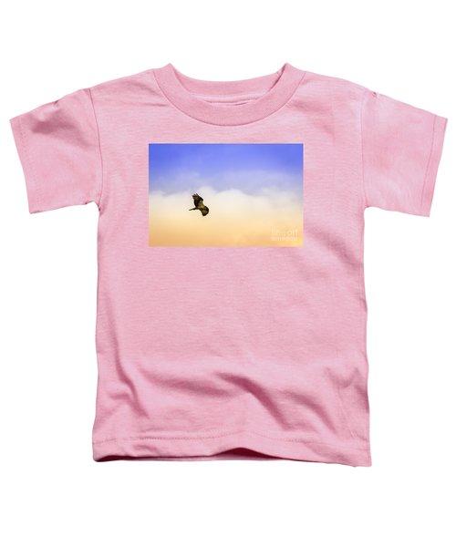 Hawk Over Head Toddler T-Shirt